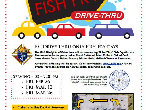 Drive thru Fish Fries