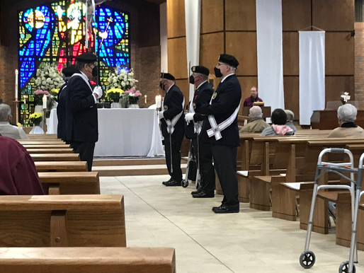 Rev. Greiner Received Chaplain of the Year