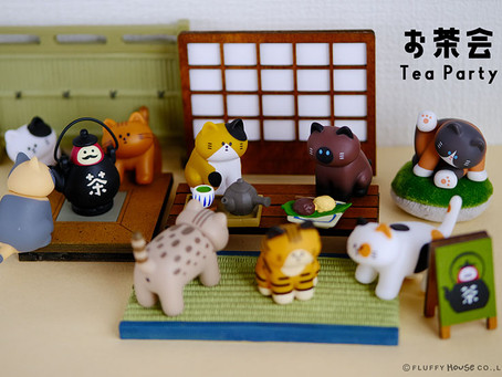 Miniature in teahouse theme | Decorate your own tea party