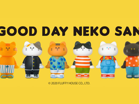 👋🏻😸 Good Day Neko San Official Release