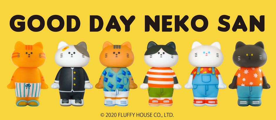 👋🏻😸 Good Day Neko San Official Release