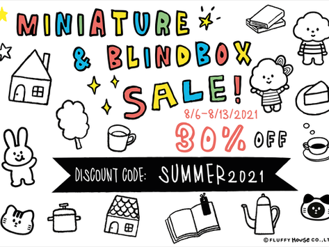 Enjoy 30% OFF on Miniatures and Blindboxes with DISCOUNT CODE