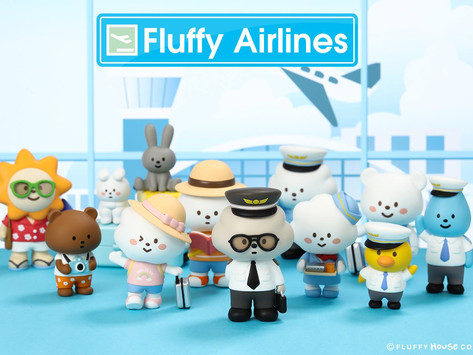 Fluffy House Proudly Presents   FLUFFY AIRLINES