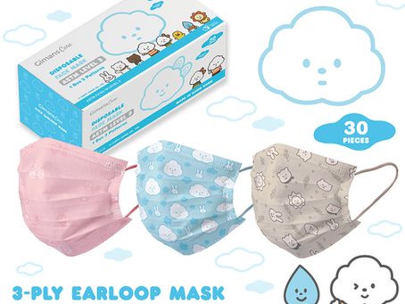 Proudly present the Gimans Care x Fluffy House Masks!