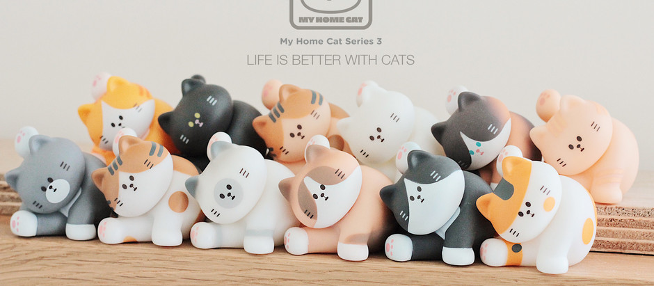 Official Release! MY HOME CAT Blind Box Series 3