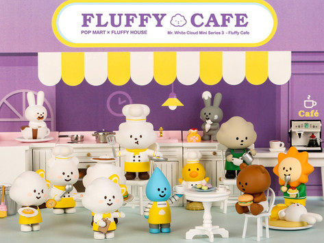 Launching Mr. White Cloud Mini Series 3 - Fluffy Cafe[2018.08.24]