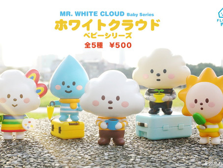 GACHA! Mr. White Cloud BABY SERIES Assembles!