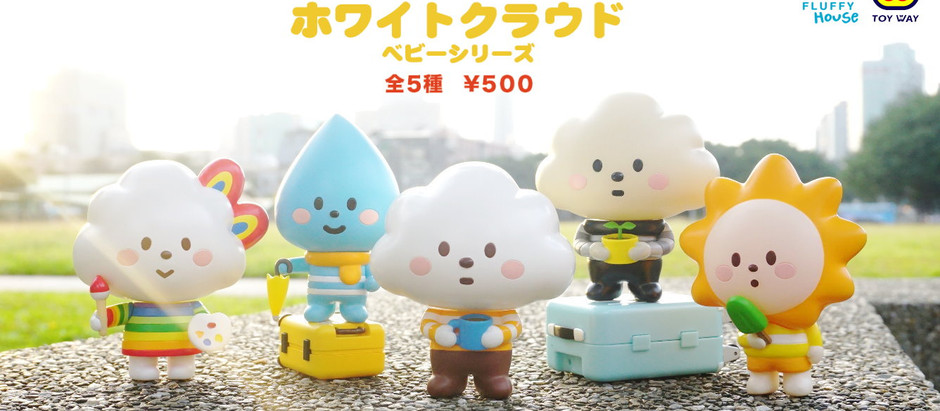 GACHA! Mr. White Cloud BABY SERIES Assembles!