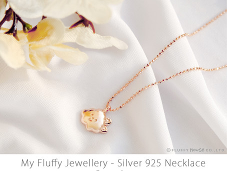 MY FLUFFY JEWELLERY | 925 Silver Necklace Series