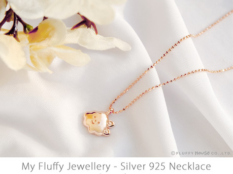 MY FLUFFY JEWELLERY   925 Silver Necklace Series