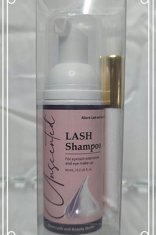 Eye lash shampoo