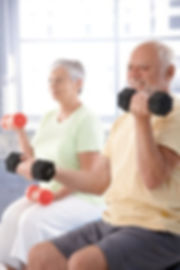 Older Adults Exercising With Gfitness