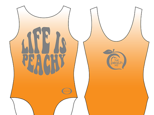 Life Is Peachy Fundraiser Leotard