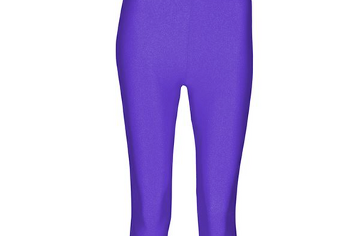 Capri Tights - Purple