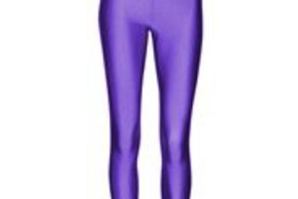 Footless Tights - Purple
