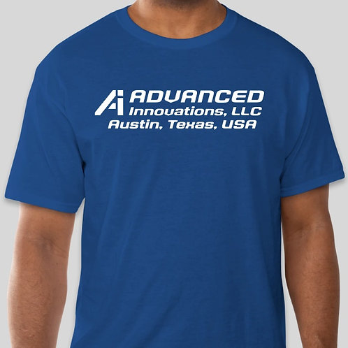Advanced Innovations T Shirt  -ROYAL BLUE-