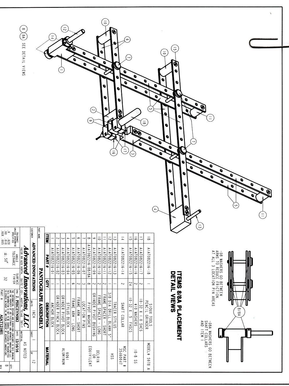 AI Pantograph Plans