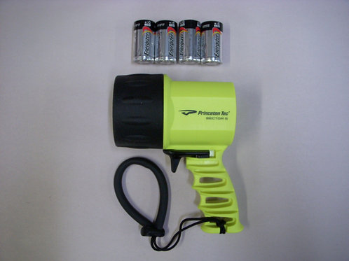 550 Lumen  Princeton Tec Sector 5 - LED Dive Light