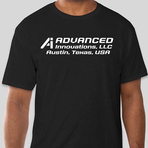 Advanced Innovations T Shirt  -BLACK-