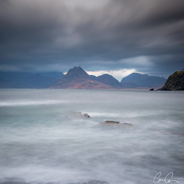Black Cuillin Storm, Isle of Skye, UK
