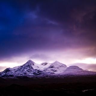 Black Cuillin Snow, Isle of Skye, UK