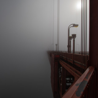 Into the Mist, Golden Gate Bridge, San Francisco, USA