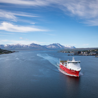 Leaving Tromso