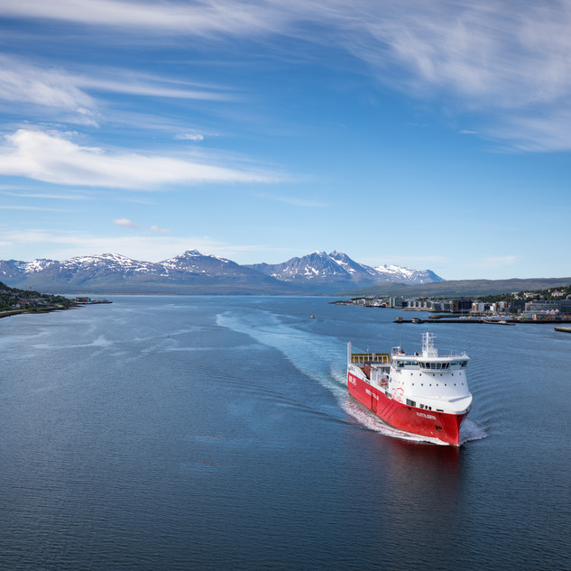 Leaving Tromso