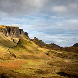 Quiraing Illuminated, Isle of Skye, UK