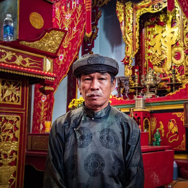 Homme de Temple, Vietnam
