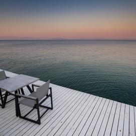 Empty Chairs, Mediterranean Sea