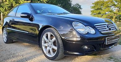 Mercedes Classe C Coupé Protection Céramique Gloss Obsession Gtechniq