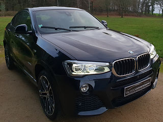 BMW X4 Protection Céramique Gloss Obsession Gtechniq