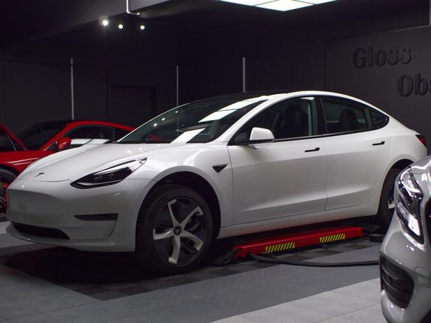 Tesla model 3 Blanche PPF
