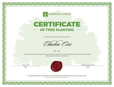 Certificate-Tree-Planting-Charlene-Orso-