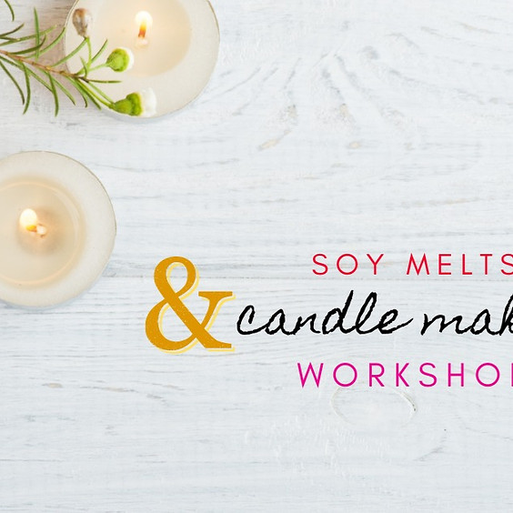 Crafty Tribe - Soy Melts and Candle Workshop