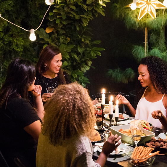 Make New Friends @Caribbean Feast!