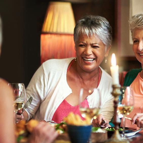 Older & Wiser Tribe - Dinner & Drinks