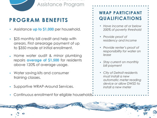 Water Residential Assistance Program