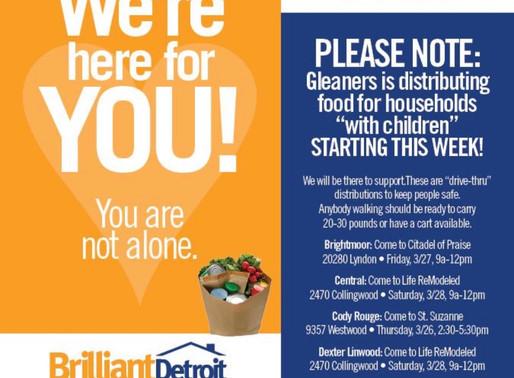 Gleaners Food Distribution by Neighborhood
