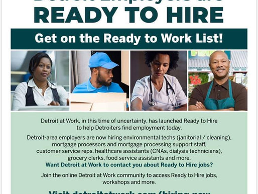 Detroit Employers Ready to Hire