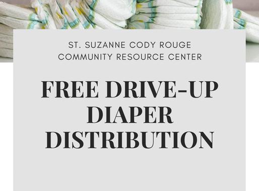 Free Diaper Distribution