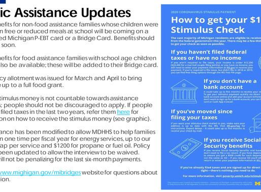 Public Assistance Updates-COVID19