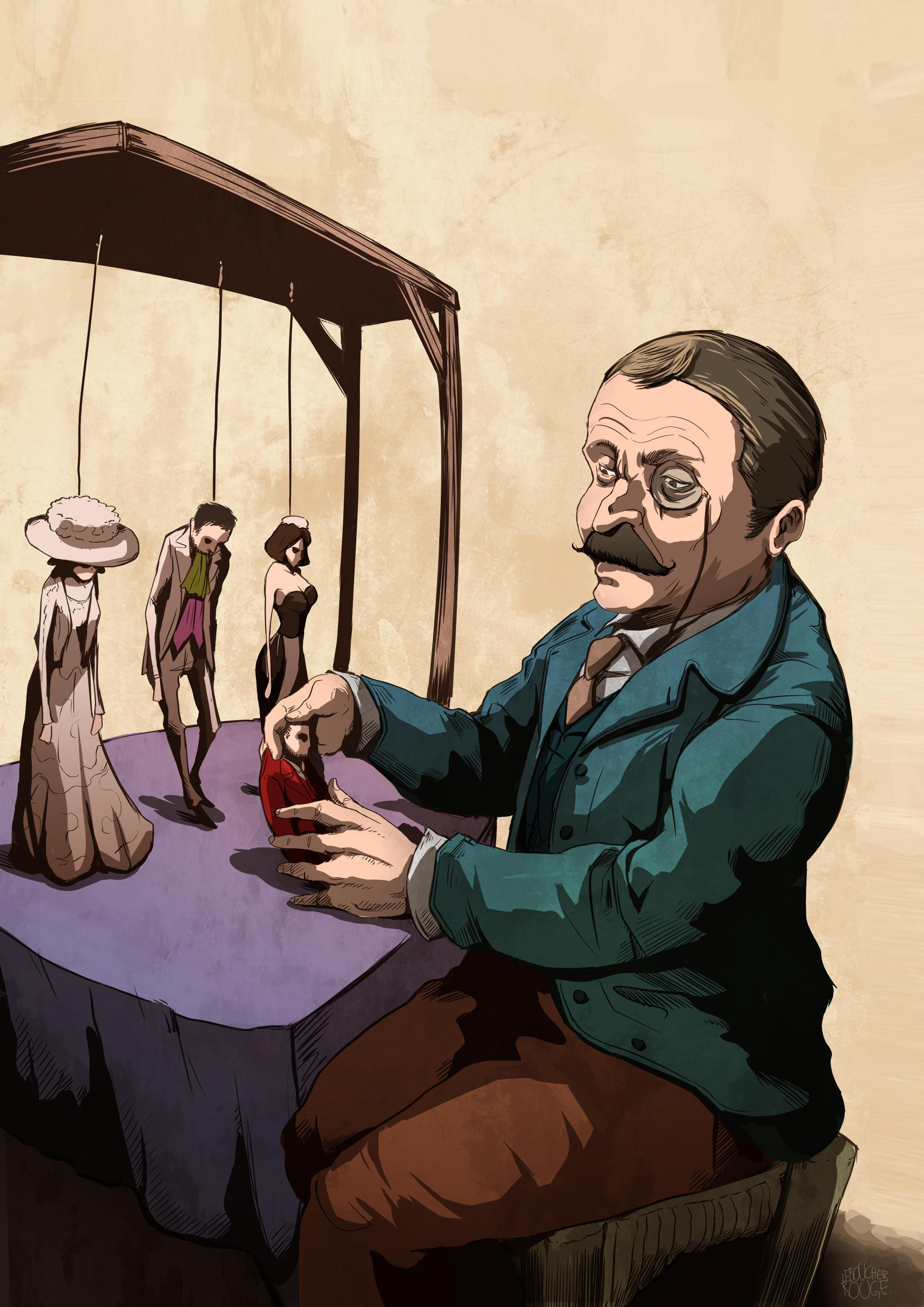 Affiche Les Marionnettes de la Vie