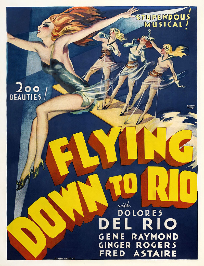 poster do filme flying down to rio