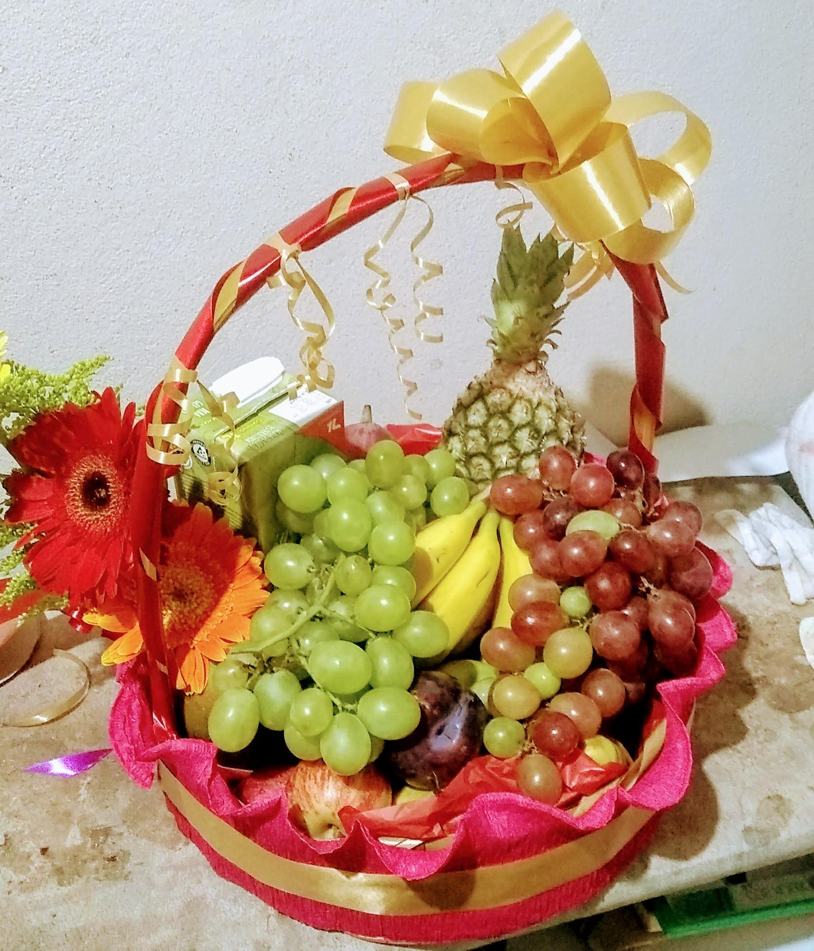 Cesta de frutas R$ 190