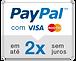 paypal 2x semjuros acima de 100$