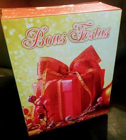 Cesta de Natal  Caixa R$ 85