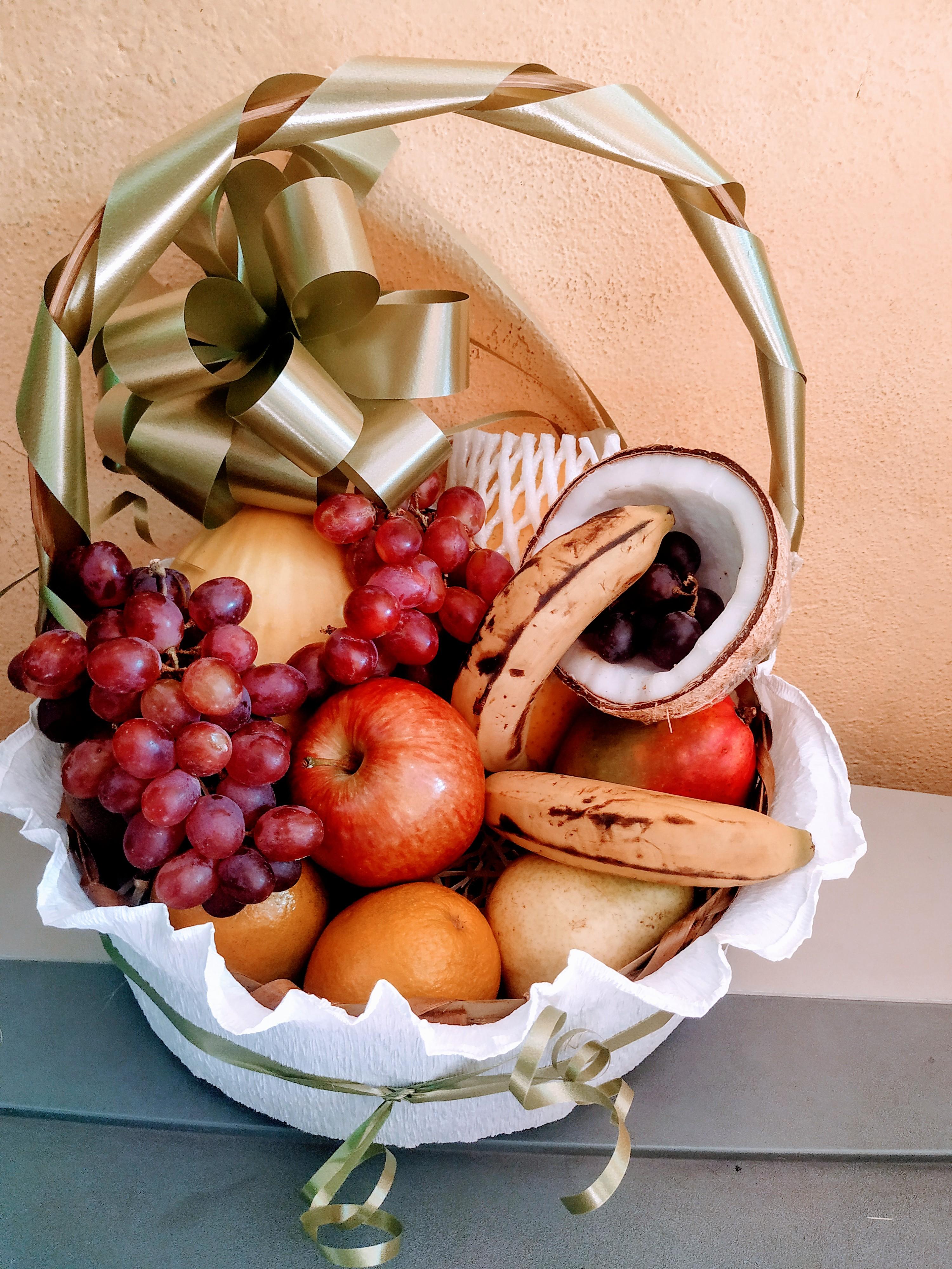 Cesta de frutas R$ 169