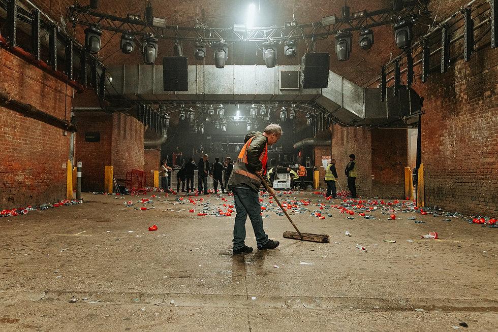 Warehouse Project Store Street Manchester. Events, Music Photography. Photo taken by Rob Jones @hirobjones